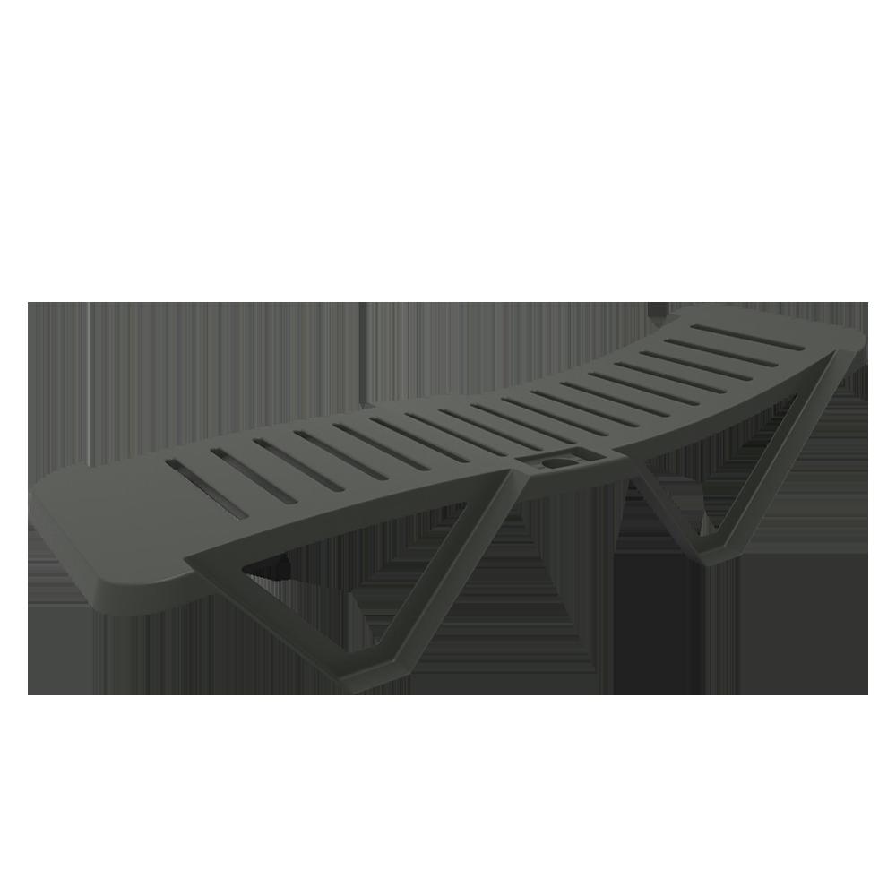 Manzala Anthracite Deckchair