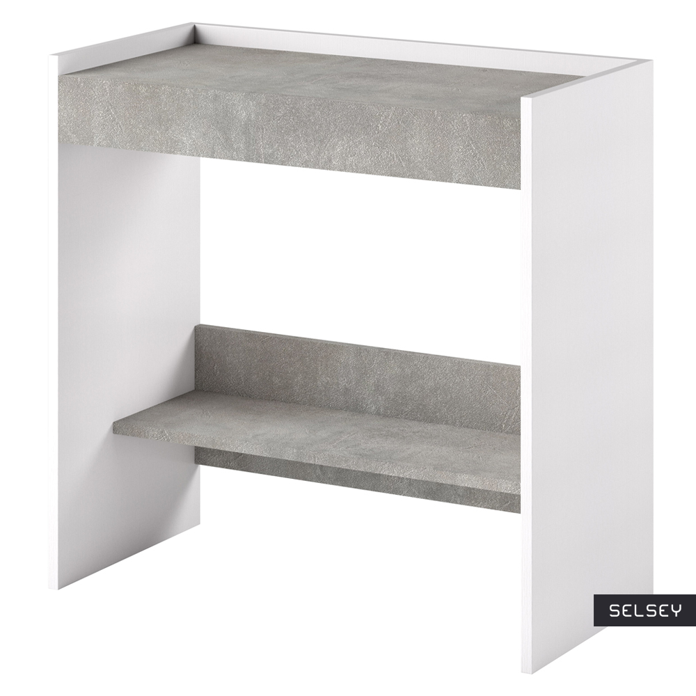 Lurdi Italian Dressing Table / Desk Concrete Grey