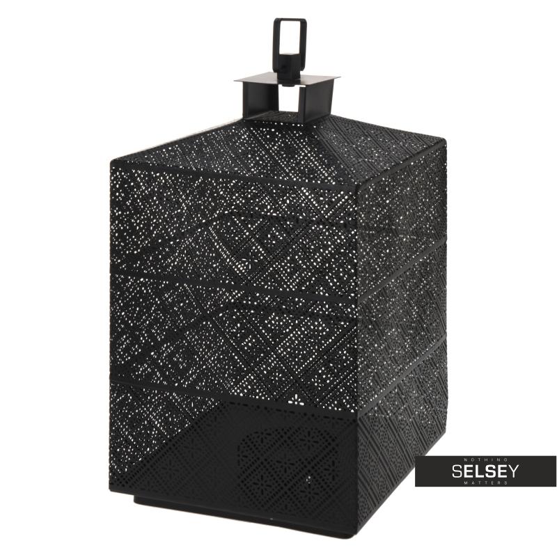 Lumiere Black Metal Lantern 31 cm