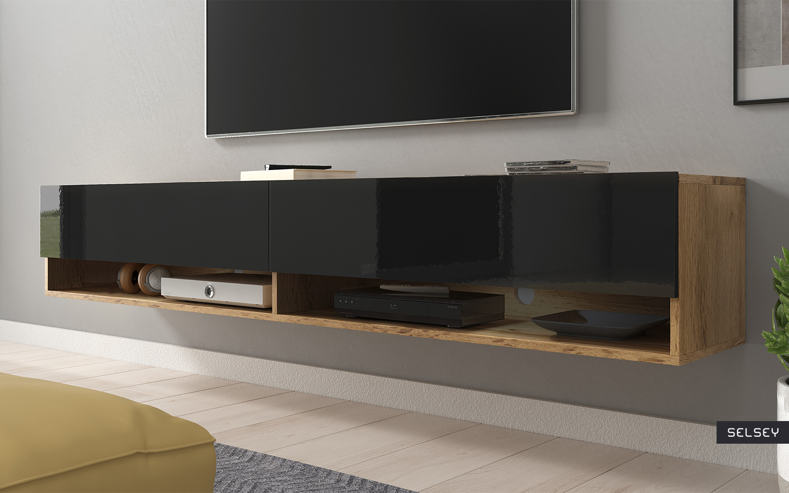 Wander Floating Tv Stand 180 Cm Selsey