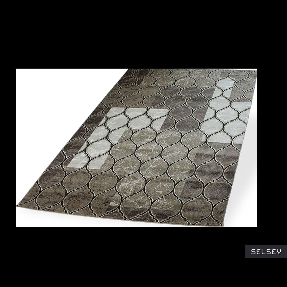 Morocco Patchwork Brown Carpet