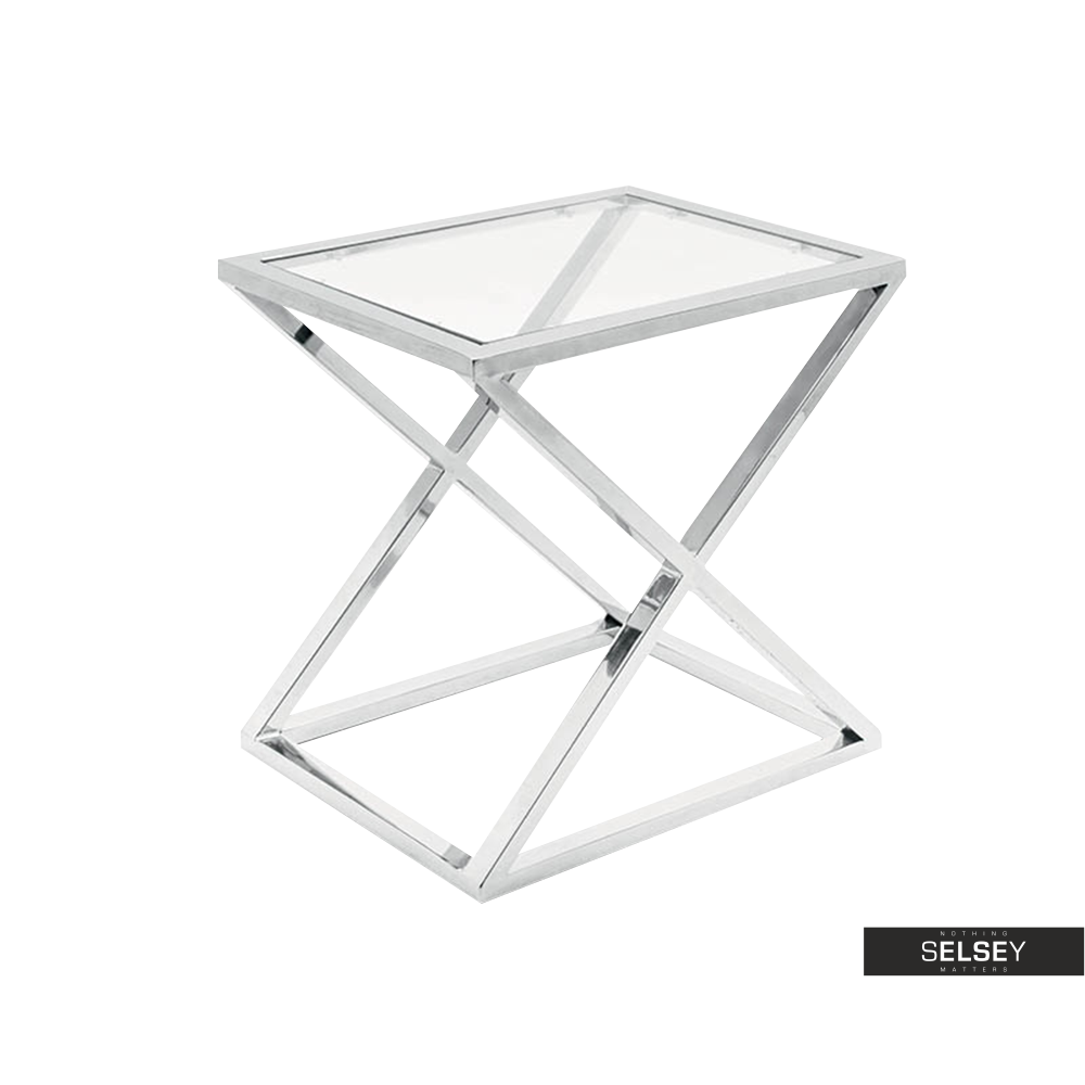 Futura Transparent Coffee Table 40x50 cm