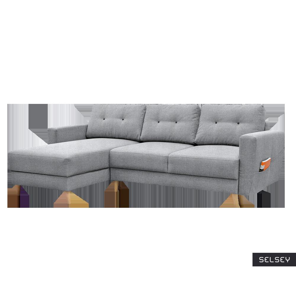Bertram Scandi Corner Sofa Bed
