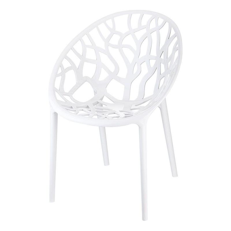 Coral White Garden Chair