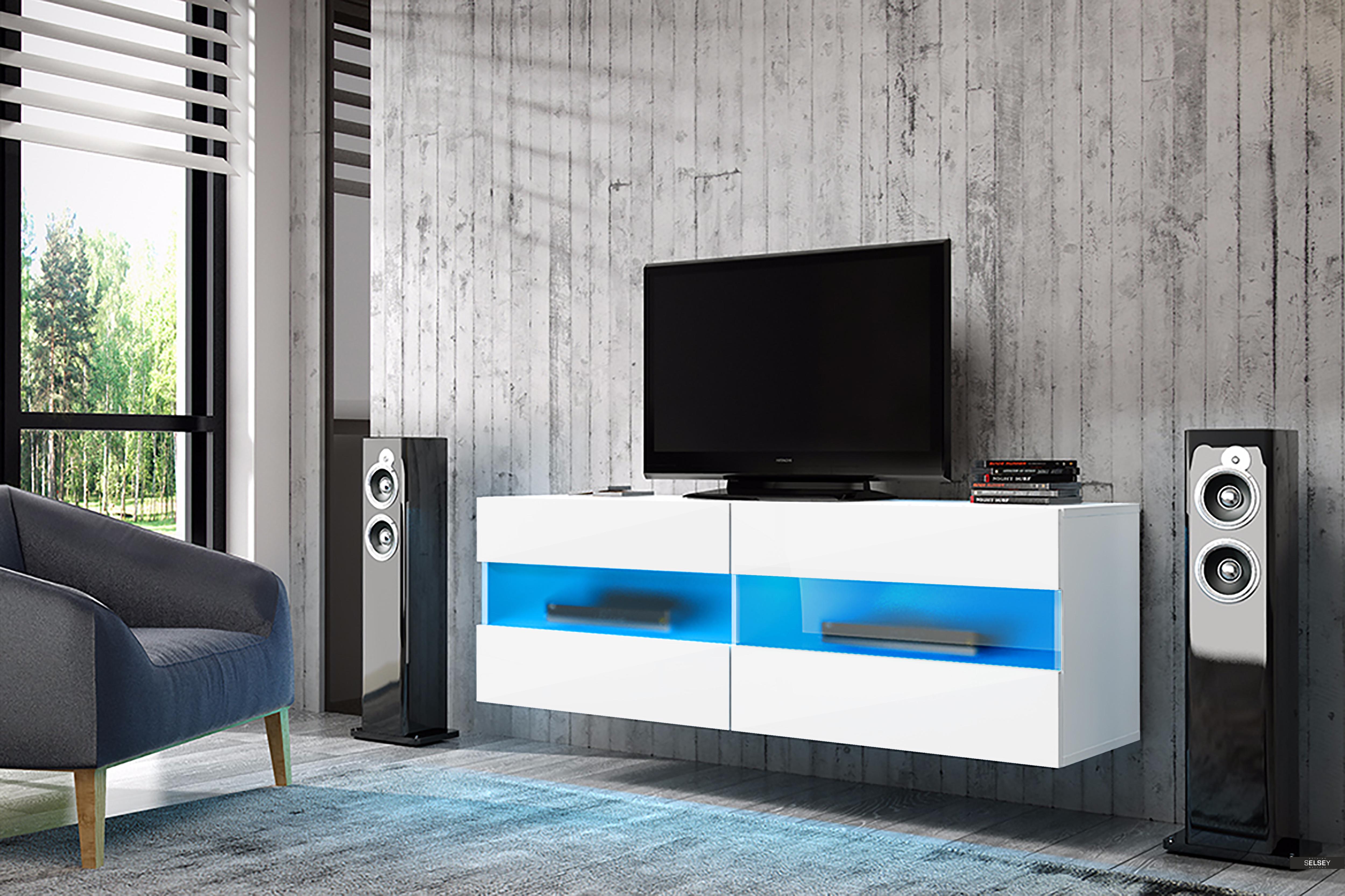 Selsey Meuble TV avec LED