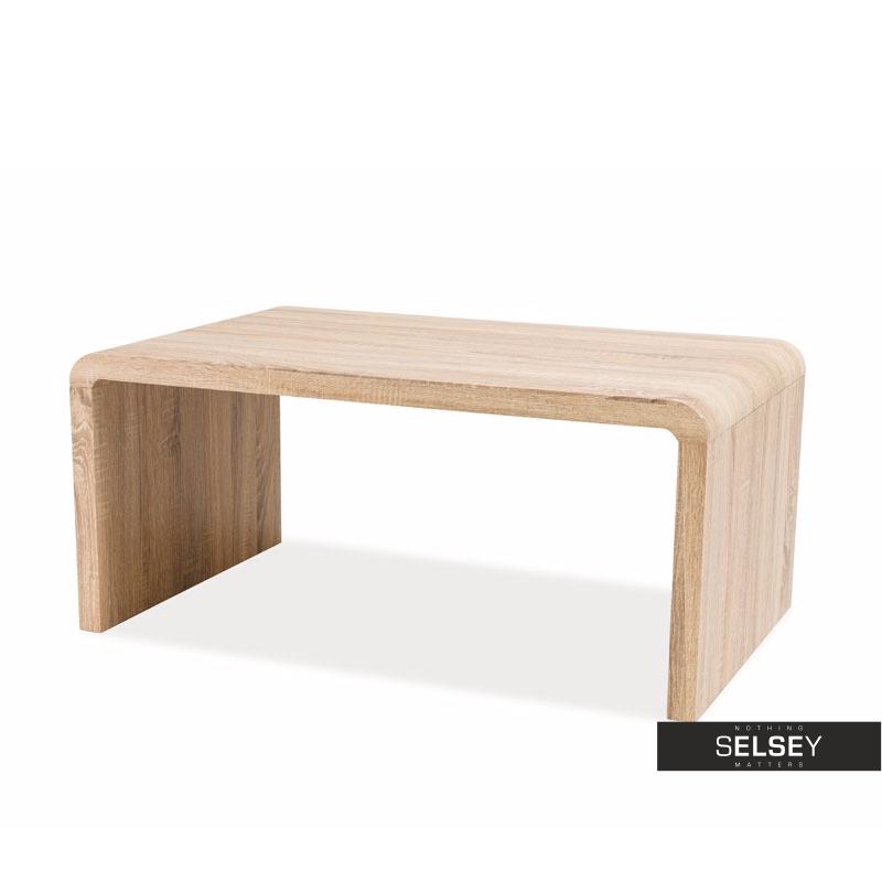 Vostra Minimalist Oak Bench