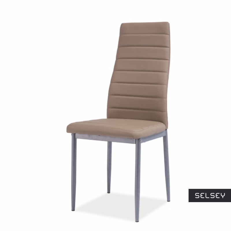 Lastad Due Upholstered Brown Chair