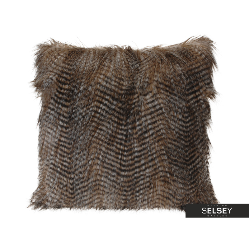 Furry Decorative Pillow 45x45 cm