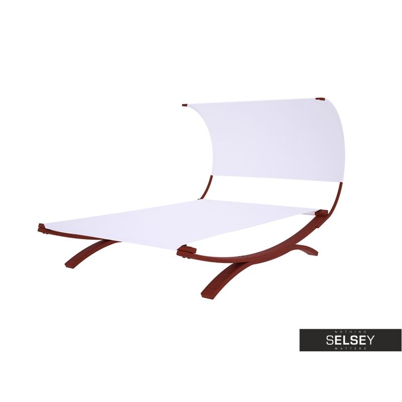 Roofy White Deckchair