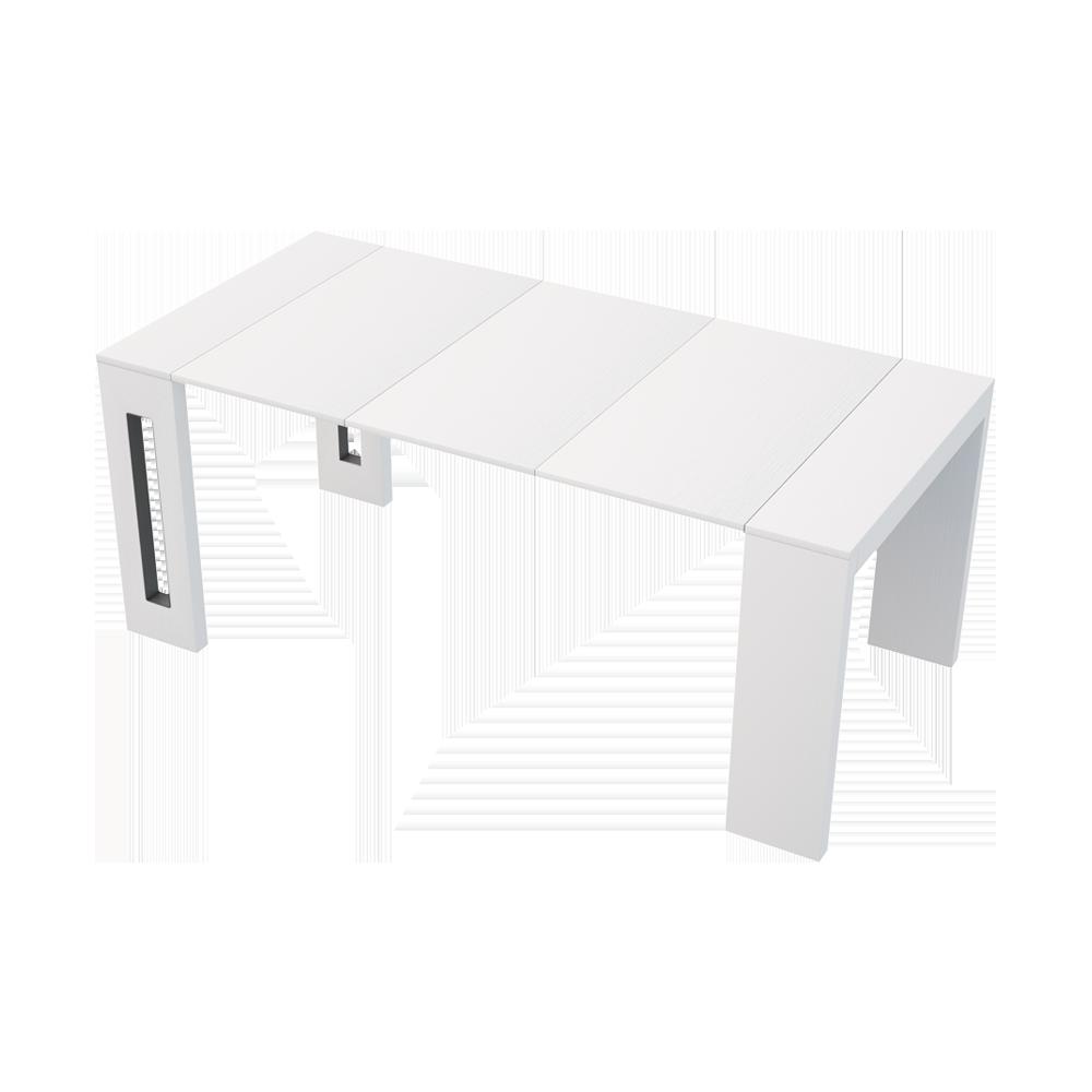 Romansia Italian Extendable Table White