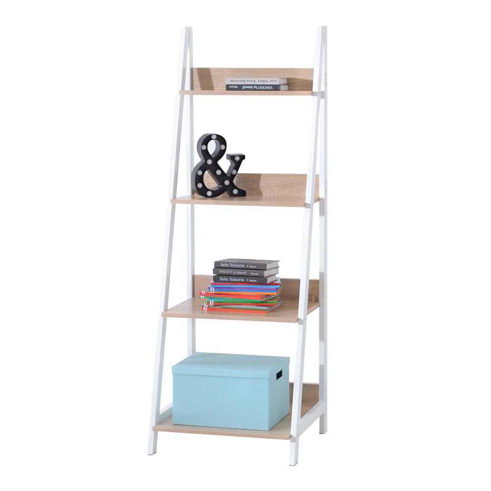 Dallenco Scandinavian Ladder Bookcase