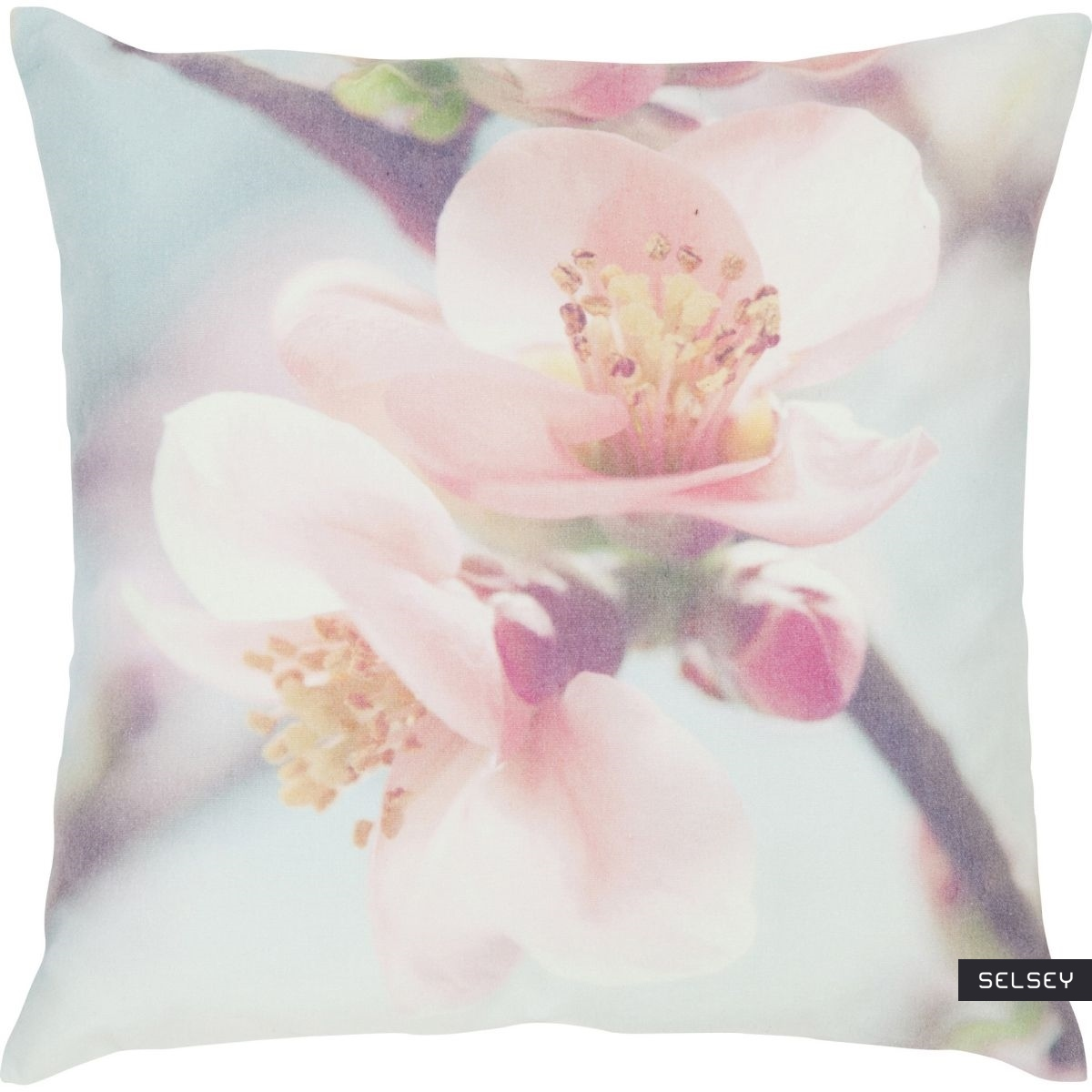 Cherry Bud Scatter Pillow 45x45 cm