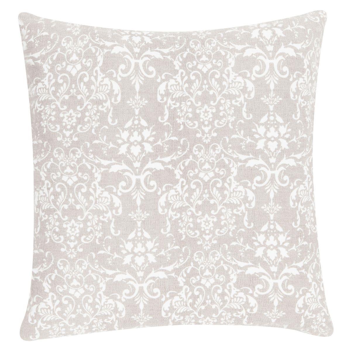 Stonewash Creme Throw Pillow 50x50 cm