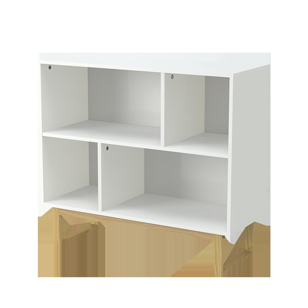 Scandinavia Low Open Bookcase