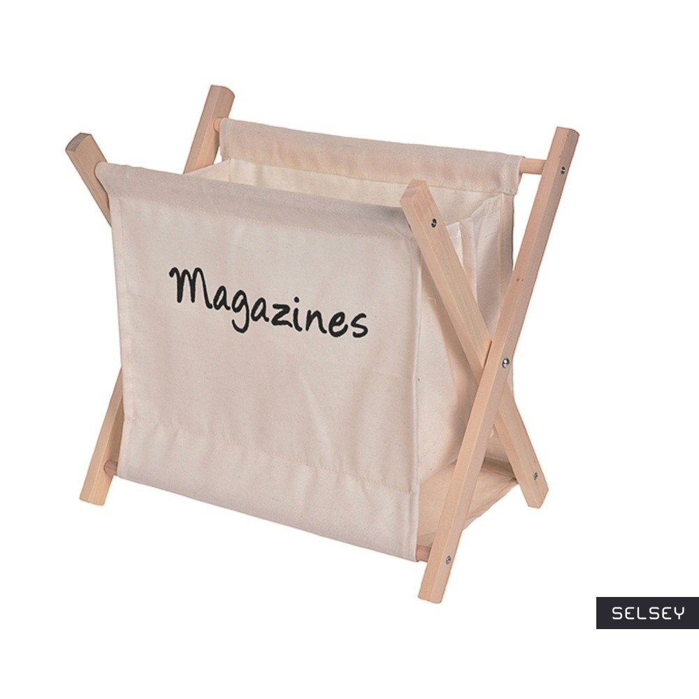 Hammock Beige Magazine Holder