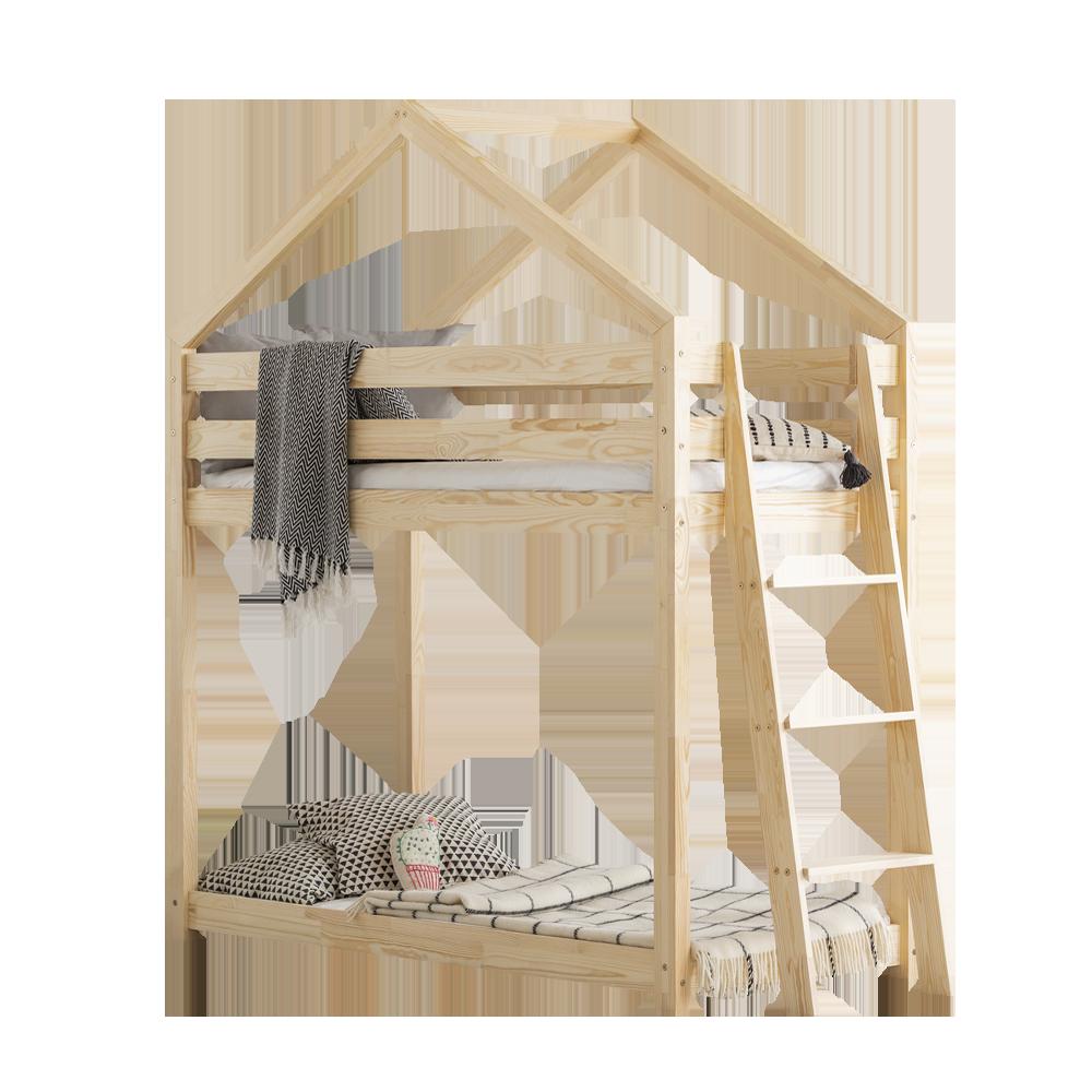 Dalidda Bunk Bed for Kids with Side Ladder