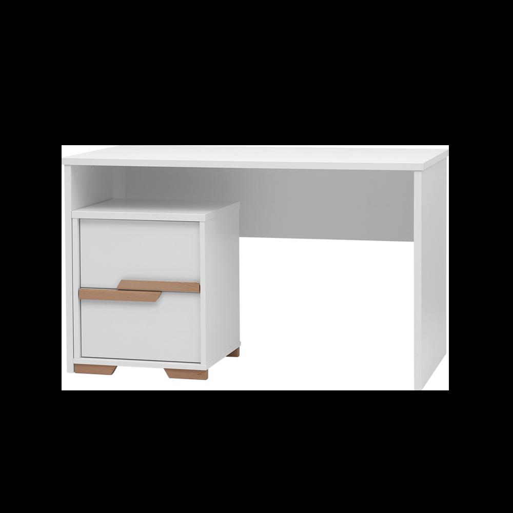 Snap Scandinavian White Desk
