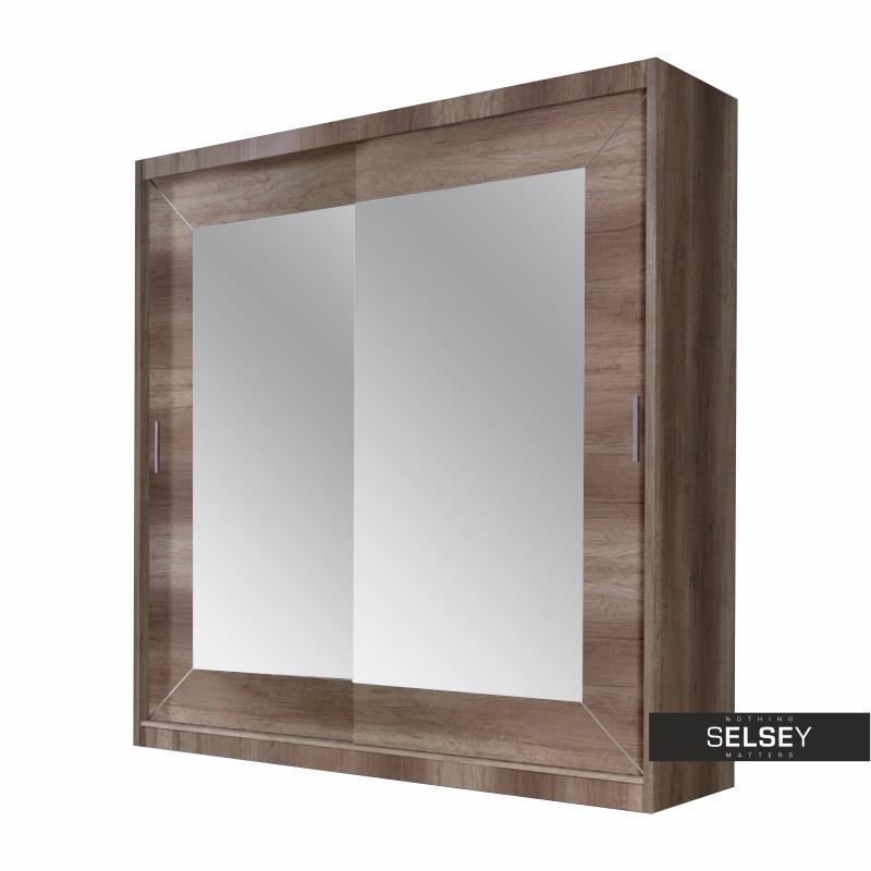 Alpha 2 Door Wardrobe with Mirror