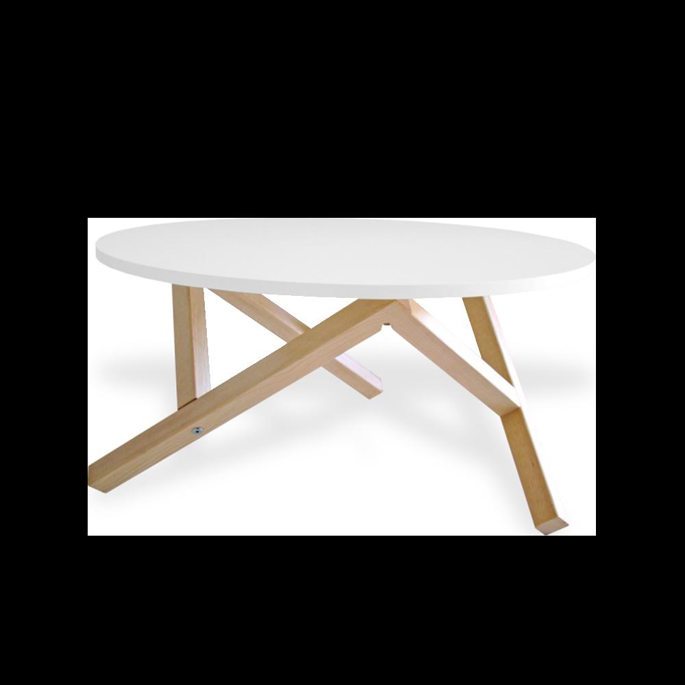 Hexagon Round Table 80 cm