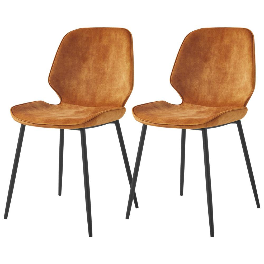 Rablart Set of 2 Chairs Yellow