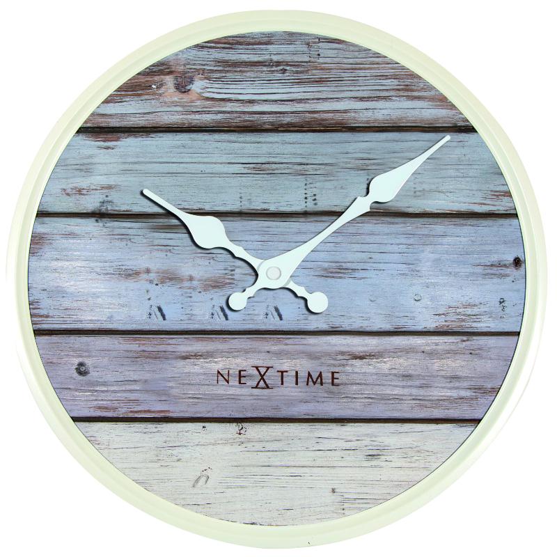 Wandplank 30 Cm.Plank Wooden Wall Clock 30 Cm
