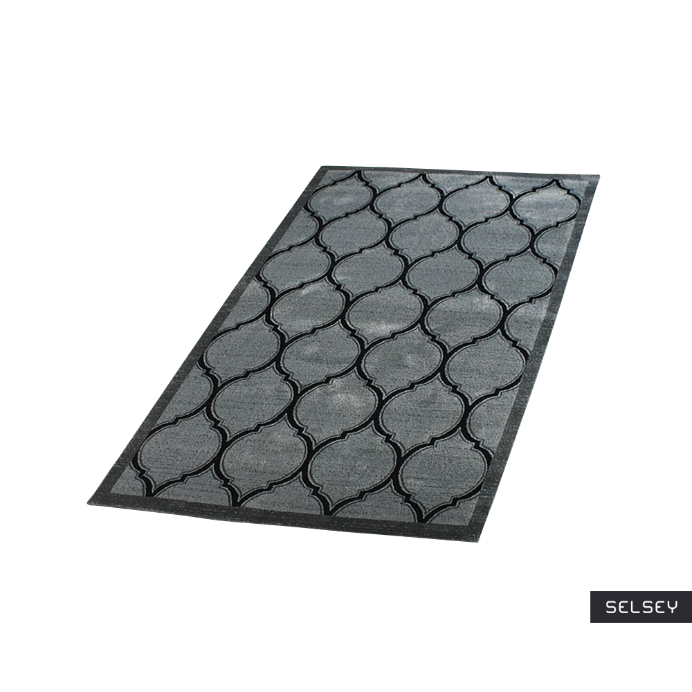 Morocco Clover Graphite Carpet