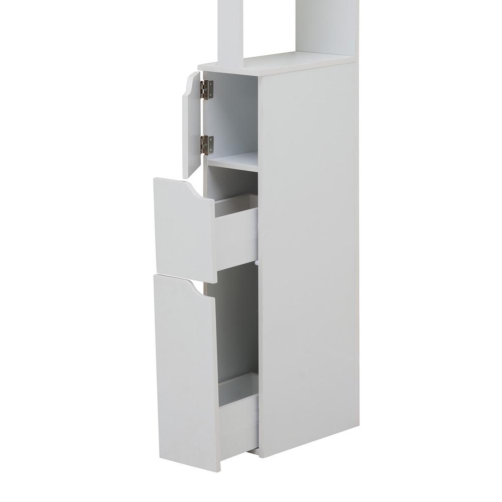 Carinda White Bathroom Storage Unit Selsey
