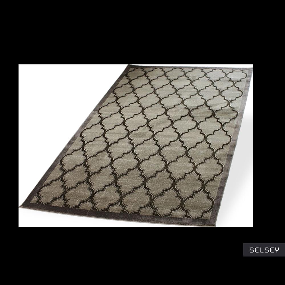 Morocco Clover Brown Carpet