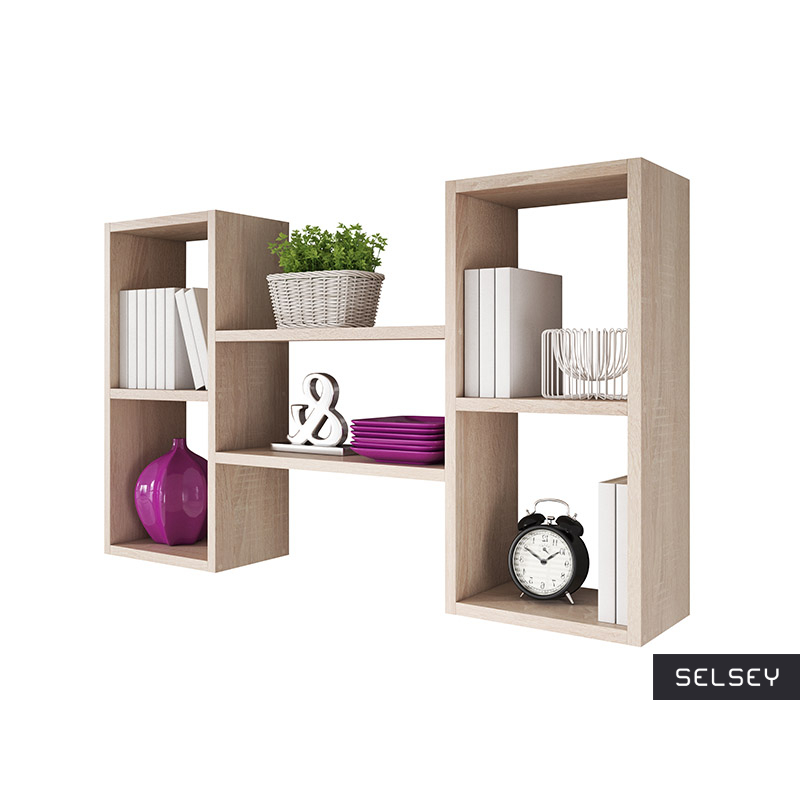 KASSI 5-Compartment Floating Shelf