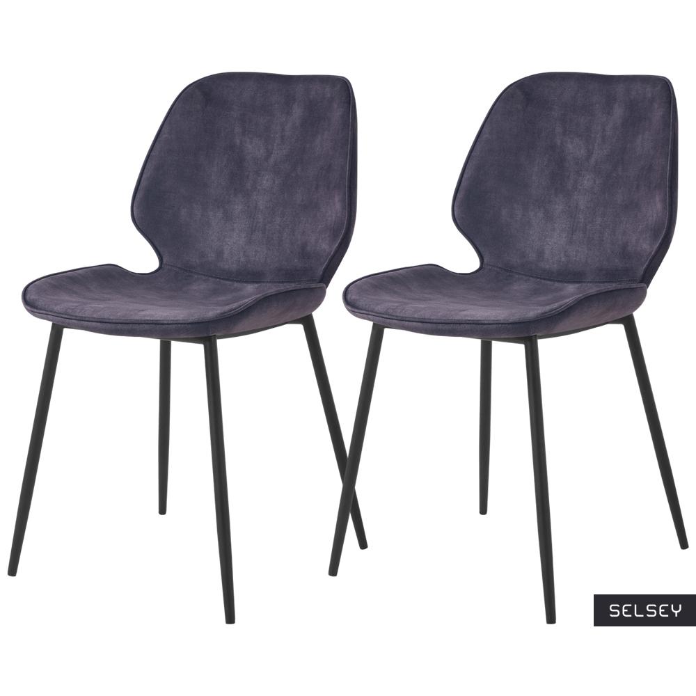 Rablart Set of 2 Chairs Grey
