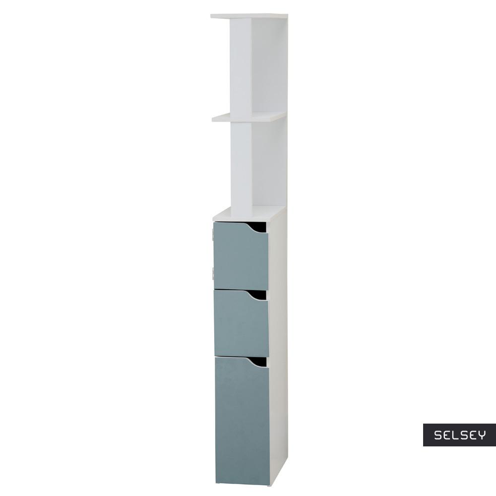 Carinda Blue Bathroom Storage Unit