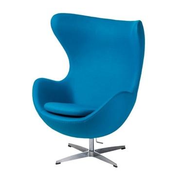 Cocoon Designer Armchair Sky Blue