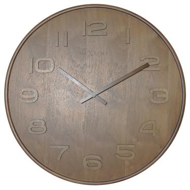 Timber Big Wooden Wall Clock