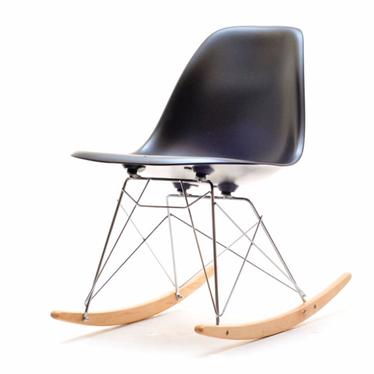 Roxy Black Rocking Chair