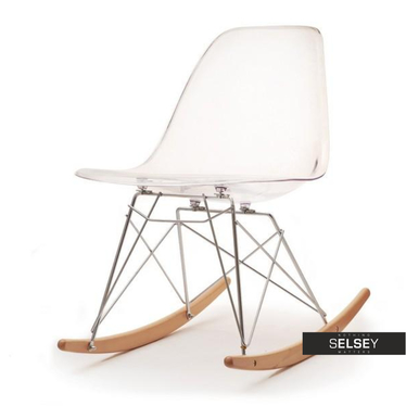 Roxy Transparent Rocking Chair