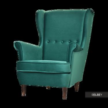 Malmo Pine Green Armchair