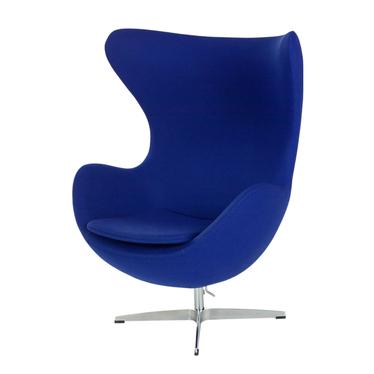 Cocoon Designer Armchair Ultramarine Blue
