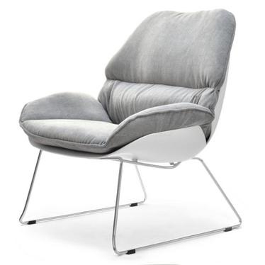 Dream White Padded Chair