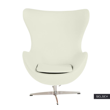Cocoon Designer Armchair Creme