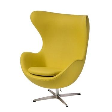 Cocoon Designer Armchair Yellow