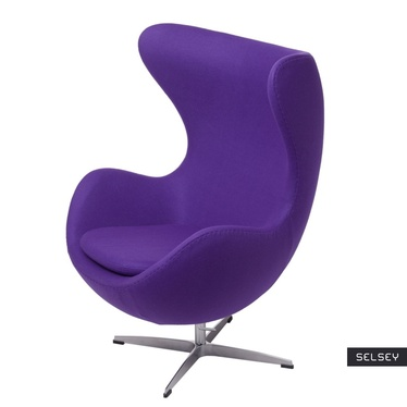 Cocoon Designer Armchair Violet