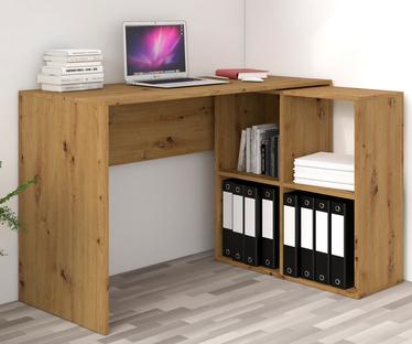 Tassin Desk with Nerron Bookshelf