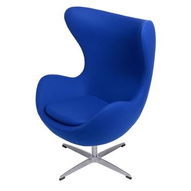 Cocoon Designer Armchair Cobalt Blue