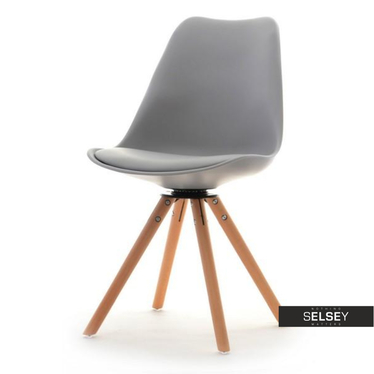 Luis Grey Swivel Chair
