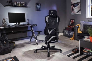 Regeo Gaming Chair Black / Grey