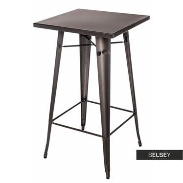 Paris Metallic Bar Table 60x60 cm