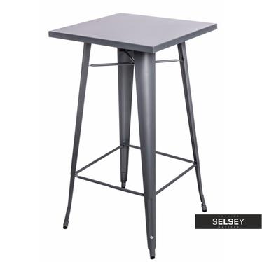 Paris Silver Bar Table 60x60 cm