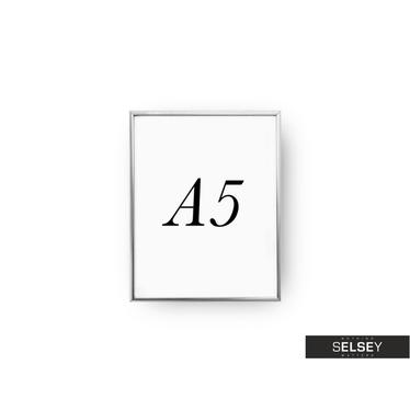 Silver A5 Photo Frame