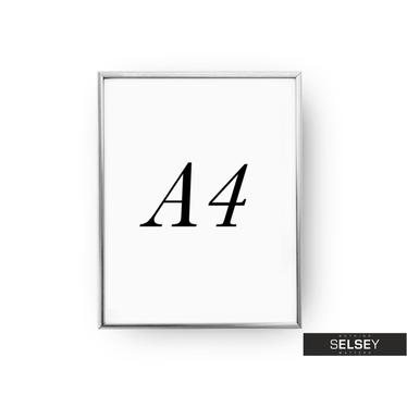 Silver A4 Photo Frame