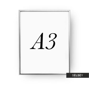 Silver A3 Photo Frame